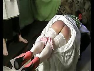 Ass spanking until bruised