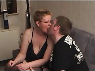 Chubby mature fucked by chubby dude