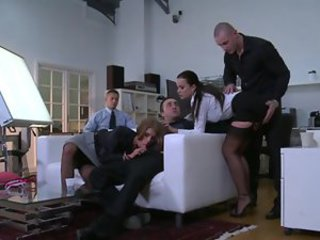 Clothed Groupsex Stockings