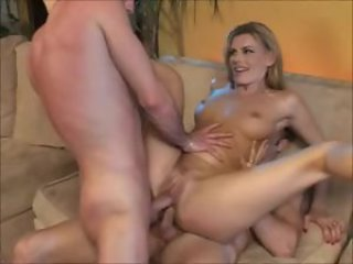 Blonde European Hardcore MILF Shaved