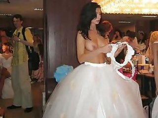 Pictures of cute amateur brides