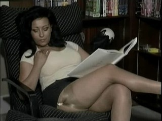 Big Tits Brunette MILF Pornstar Stockings