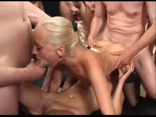 Big German Gangbang