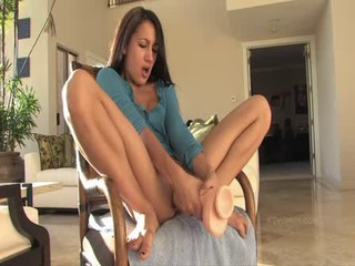 solo with big dildo
