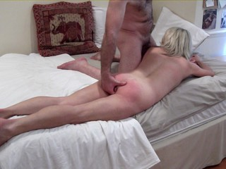 Sexy Spanking Massage Video 3