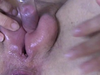 double clit pumping and...