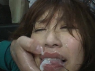 Asian Babe Cumshot Facial Deepthroat