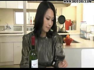 Sweet Japanese Housewife Turns Out To Be One Nasty Fucker