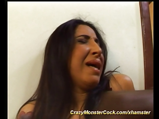 Latin Ass Exploded By Monster