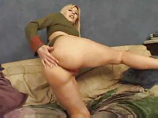 Good Anal Work For The Cock Loving Blonde