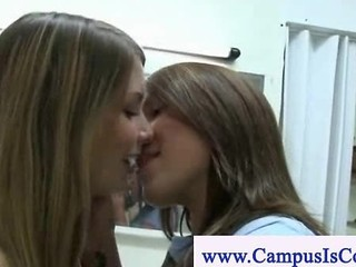 University Babes Masters In Lesbian Sex Eating Pussy