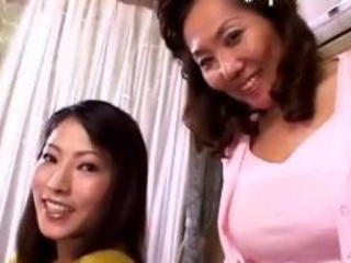 Mom And Daught In Japanese Asian Lesbian 3sum
