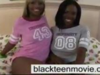 Two Cute Ebony Teens