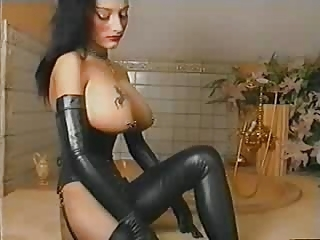 Big Tits Fetish Latex Lingerie Piercing