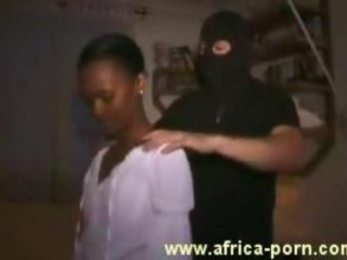 African Girl Portrayed As A Whore