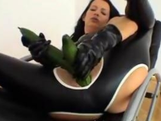 Extreme Mature Milf Wife Bizarre Vegetable Insertion...