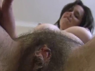 Big Tits Brunette Clit Hairy Pussy