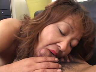 Mature japanese mommy needs meat