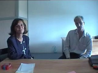 French mature couple casting ama