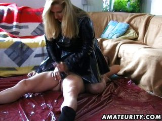 Mature Amateur Wife Handjob With...
