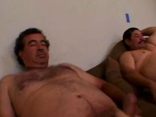 Two Ugly Old Mexican Mens fuck Sexy Girl