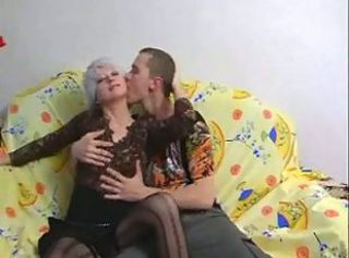 SEXY MATURE 36 russian mom with a young boy
