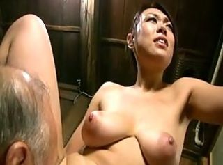 Asian Japanese Licking Natural Old and Young