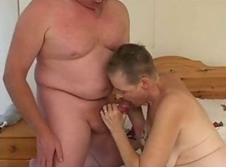 Old mature Tattoed fucks with old men