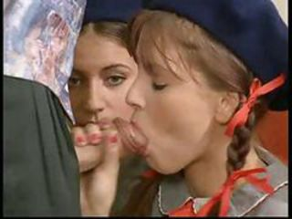 Blowjob Clothed Cute Groupsex Pigtail Teen