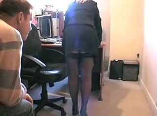 British Mature Office Stockings