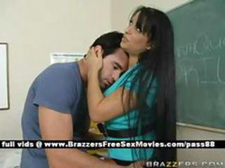Brunette Bus Long hair MILF Pornstar School Teacher