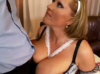 Laura big tit maid