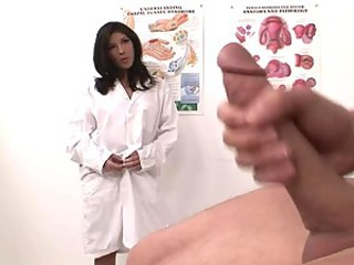 Amazing Big cock Brunette Doctor Pornstar Uniform