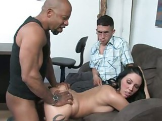 Raunchy Alicia Foxx loves getting shagged from behind