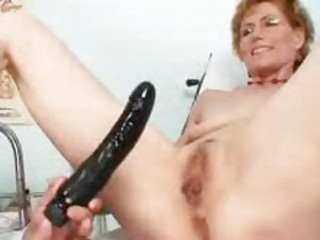 A visit to the doctor for the mature babe