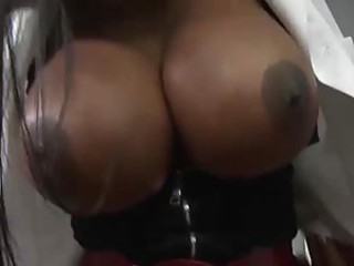 Sexy Black Doctor Gets Her Bubble Butt Popped By A Big Cock