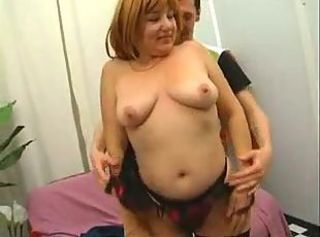Redhead Mature Mother Fucked By Young Son