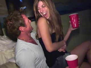 Drunk College Groupies Love Stiff Cocks At Parties