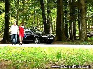 Amateur French Interracial Outdoor Teen