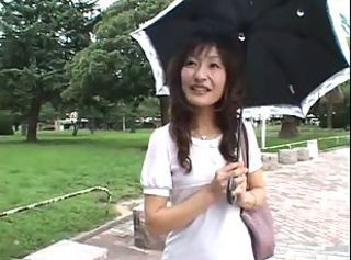 Amateur Anal Japanese MILF Outdoor