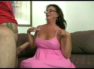 Mature give Boy a Handjob _: handjobs hardcore matures