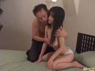 Asian Teen Rei Amami Gets Fucked by an Old Man