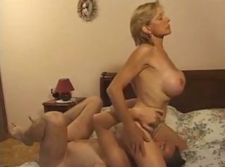 Big Tits Blonde French Licking Mom Pornstar