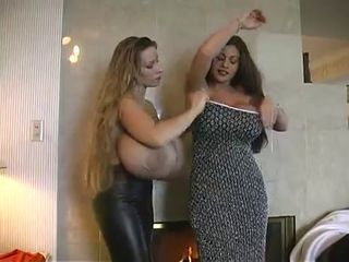 Classic Hugetitted Cougars Girl-Girl Playtime