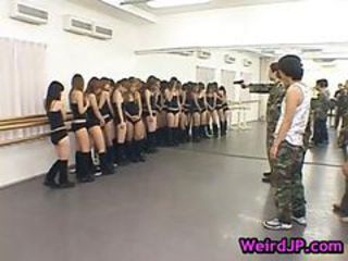 Army Japanese Orgy Teen