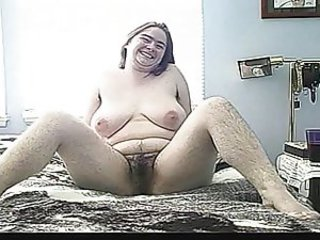EXTREMELY HAIRY! Chubby Squirter