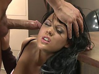 Babe Blowjob Brunette Cute Office Pornstar