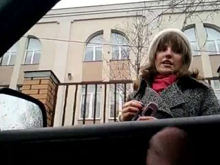 rus Public Masturb in AUTO ABUSES GIRLS 40  - NV