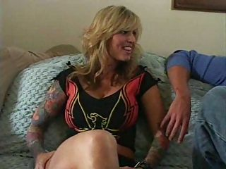 Busty Blonde MILF Janine and ...