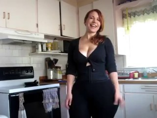 Amazing Cute Natural Redhead Wife